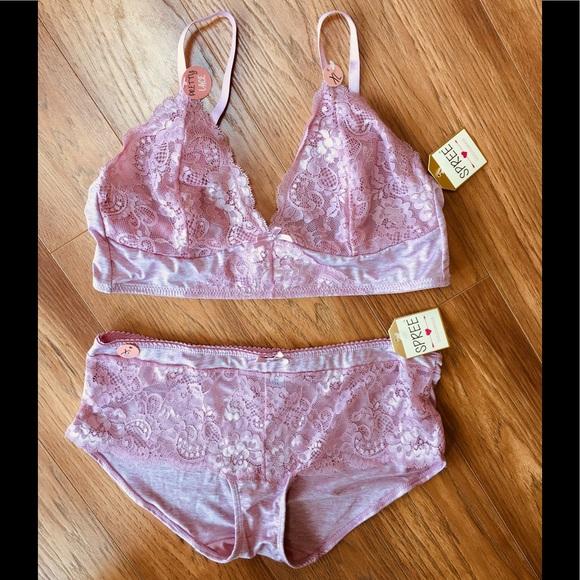 fee9b149c6c Spree Soft Pink Bra   Panty set XL